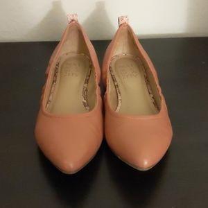 Naturalizer pink ballet flats